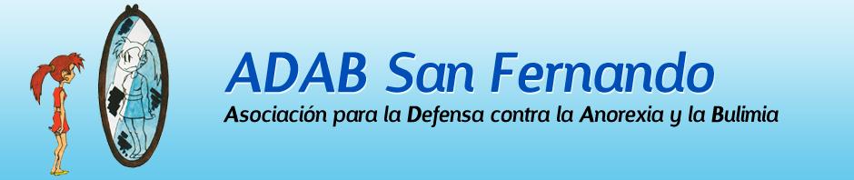 ADAB San Fernando - Asociación para la Defensa Contra la Anorexia y la Bulimia.
